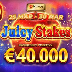 Tournoi de machines à sous Juicy Stakes sur le casino online WinOui