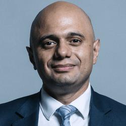 Sajid Javid est le ministre de la santé en Grande-Bretagne